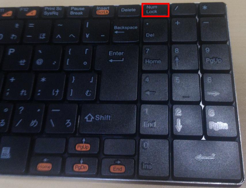 num lockランプがついてなくても大丈夫 keyboard ledsの使い方