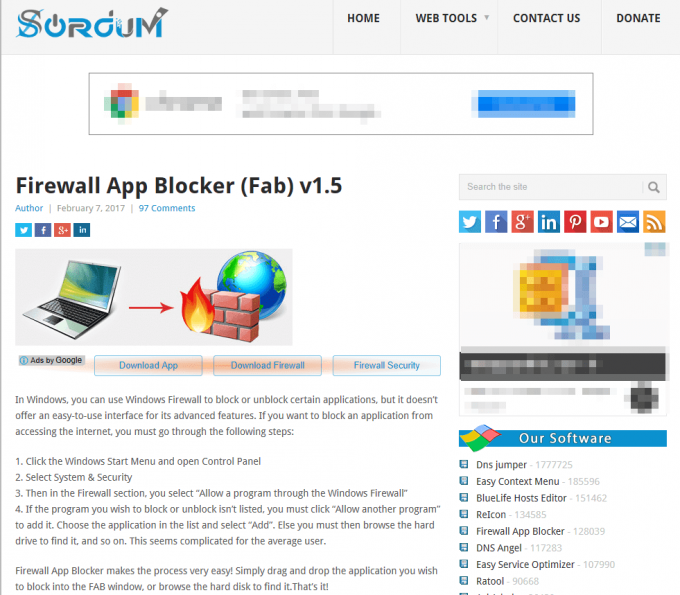 firewallappblockerのダウンロードサイト