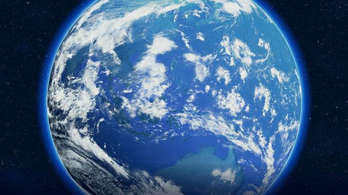 キレイな地球……美しい